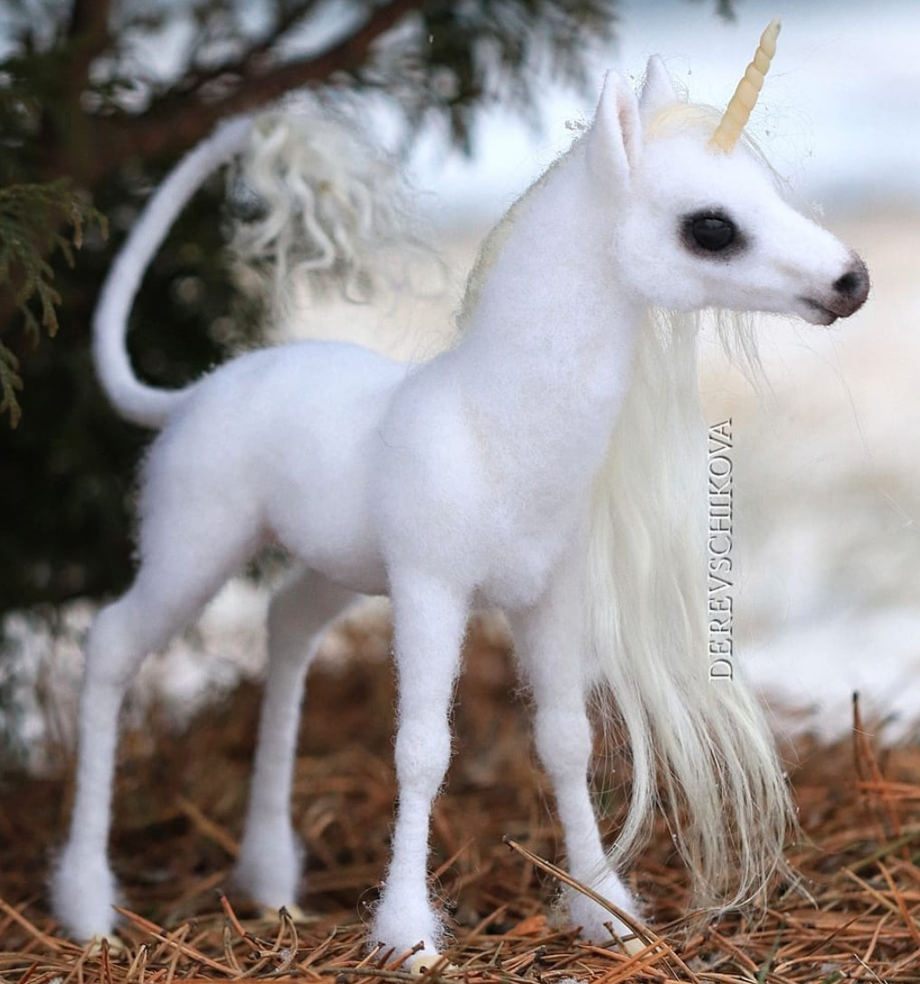 Woman Makes Felted Animals Out Of Wool And They're Adorable (31 Pics)