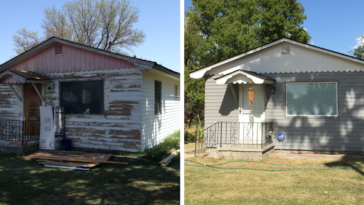 Woman Completely Renovates Grandmothers House That Had Been Abandoned For 30 Years And It's Awesome