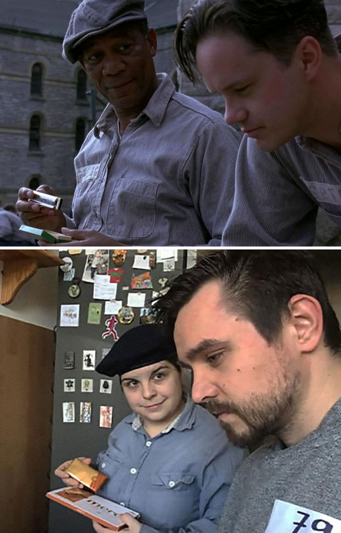 This Couple Stuck In Lockdown Passes Time By Recreating 22 Famous Movies
