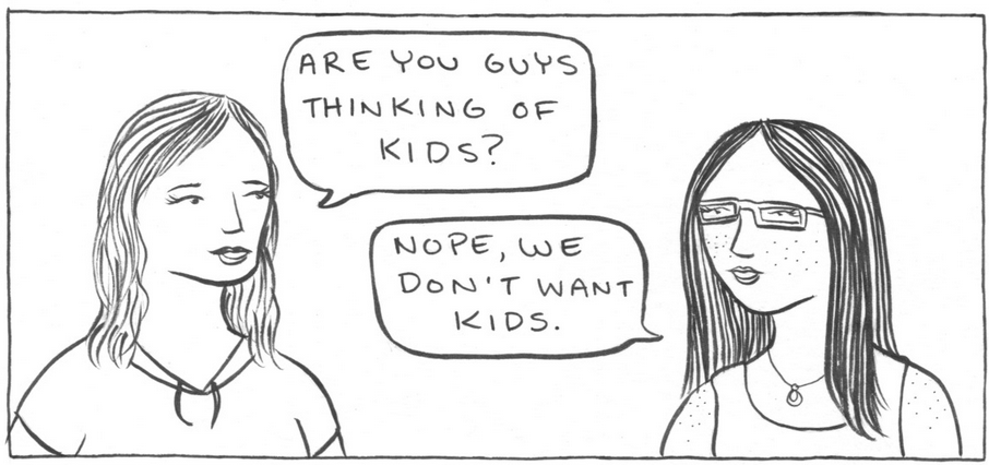Artist Illustrates Why It's OK That Not All Women Want Kids (25 Pics)