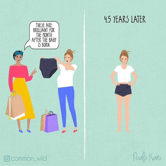 Mom Illustrates Motherhood Moments Perfectly In 30 Honest Comics