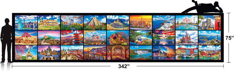 Cure Your Boredom With This 51,300-Piece Puzzle From Kodak