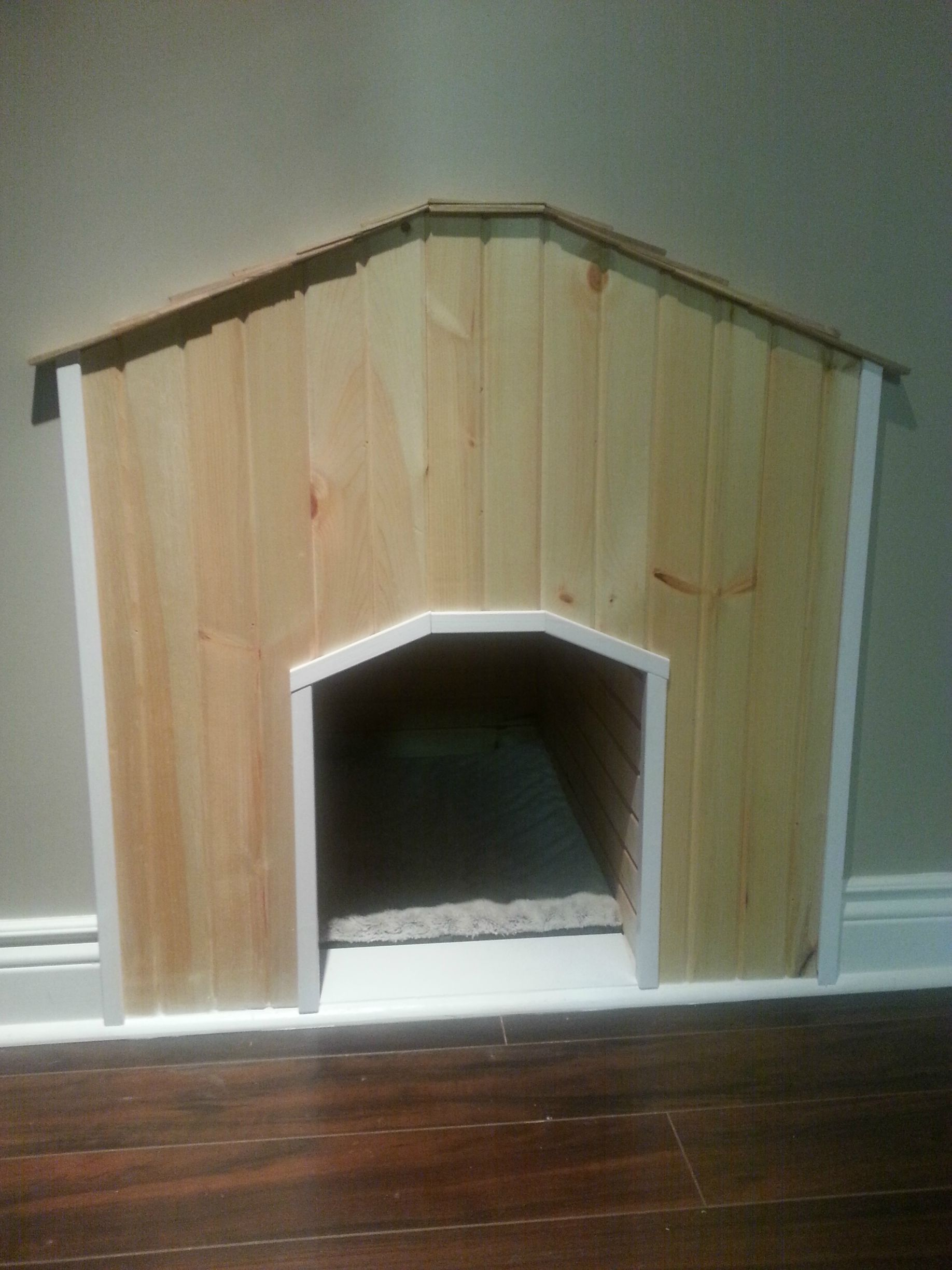 I Built A Dog House Under The Stairs And It Turned Out Better Than Expected