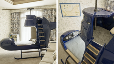 You Can Get This Helicopter Bed For Your Kids And It's Awesome