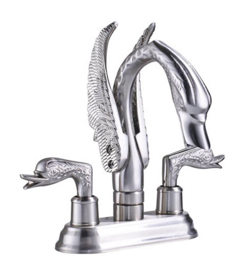 Turn Your Bathroom Into A Fantasy Fortress With These Dragon Faucets