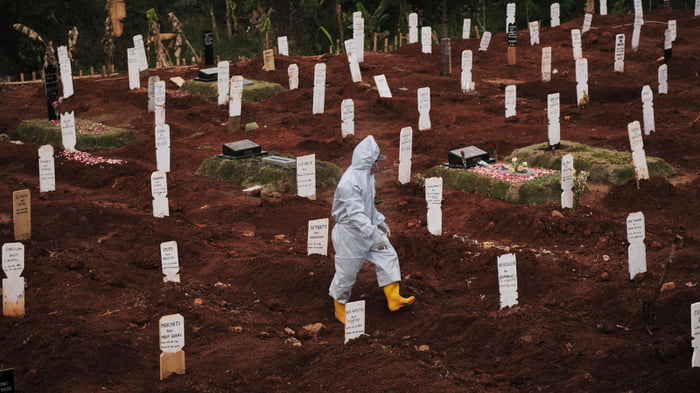 Local Authorities Made Anti-Maskers Dig Graves For COVID-19 Victims As Punishment For Not Wearing A Mask
